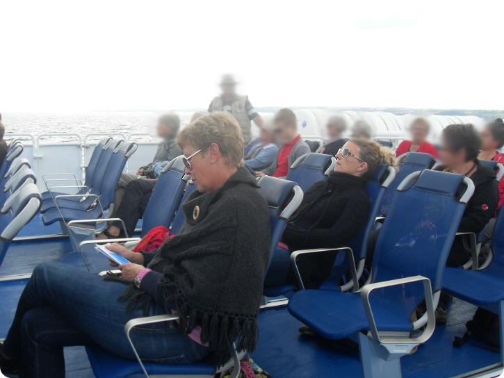 Expressen med fri luft og gode stole