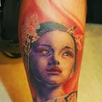 Leg tattoo - tattoos for women
