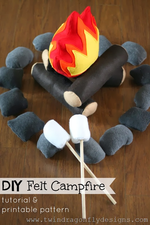 Felt Campfire Pattern