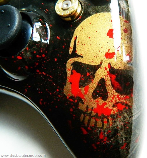controle de x box personalizado municao projeteis bala arma desbaratinando (11)