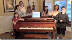"""Scene from """"Family Tree Rhapsody"""" by Randy Wilson and family"""