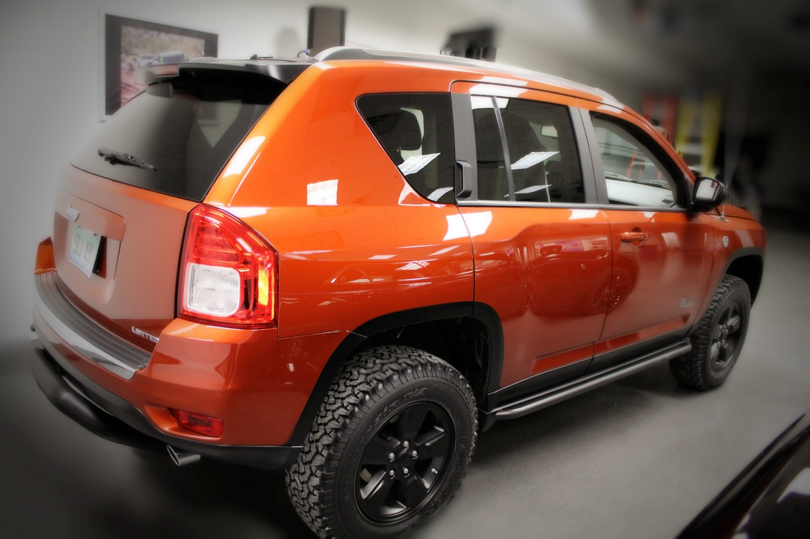 2007 jeep compass tires