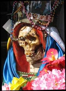 Our smiling friend, la Santa Muerte