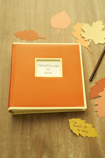 This little Semikolon classic bound book makes a great memory keeper. After you take your branches down, place them in the clear scrapbook sleeves, and your family will have so much fun looking at them next year.