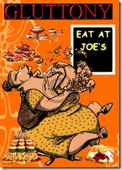 Gluttony ATC Digital Card for Blog