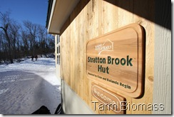 Tarm Biomass Stratton Brook Hut