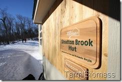 Tarm Biomass Stratton Brook Hut