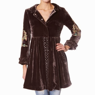 #108 Once in a liftime coat d brown