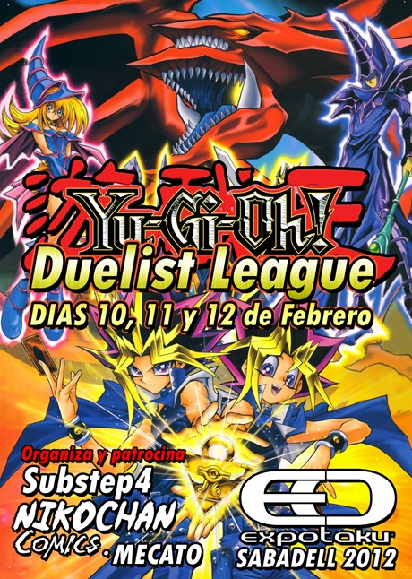 Torneos Yu-Gi-Oh! en el Expotaku Sabadell 2012 – Duelist League