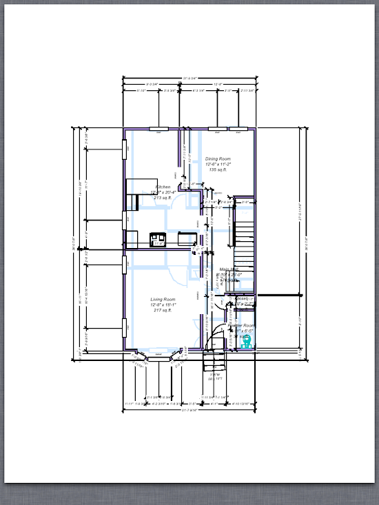 House Plan With Measurement Joy Studio Design Gallery