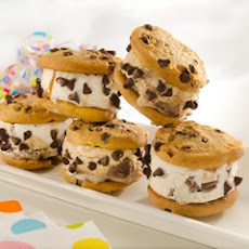 Double Chocolate Chip Cookie Sandwiches