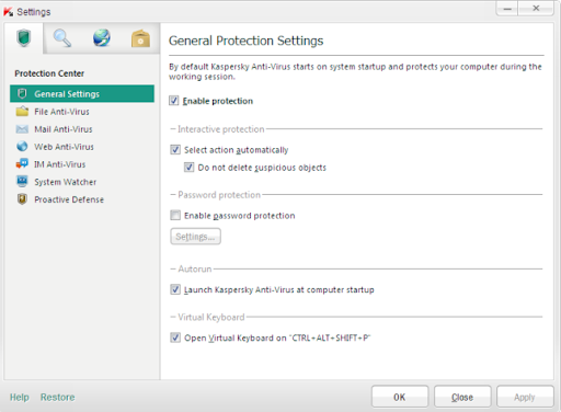 Descargar Kaspersky Anti-Virus gratis