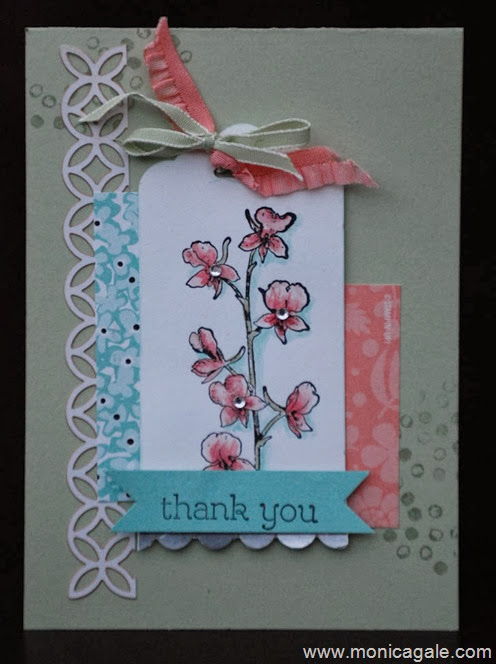Stampin'Up! Happy Watercolour www.monicagale.com