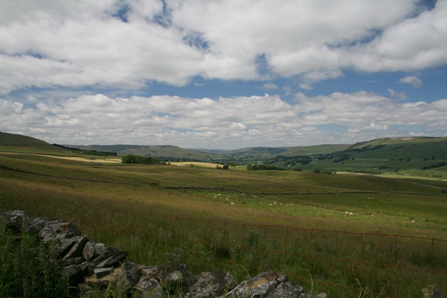 Wensleydale from the Roman Road