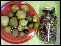 Potato's and Red Onion
