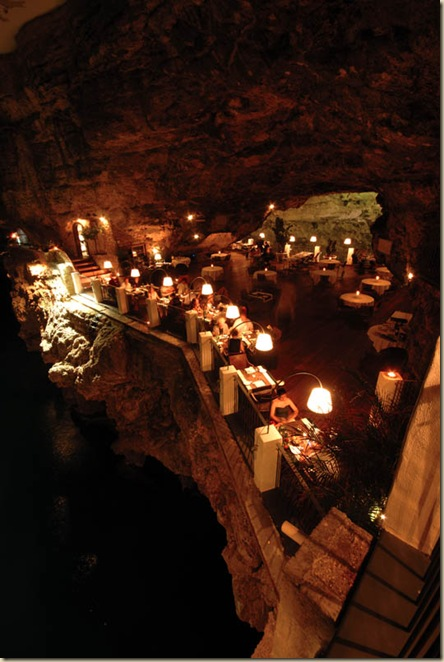 Restaurant de l'hôtel Grotta Palazzese (8)