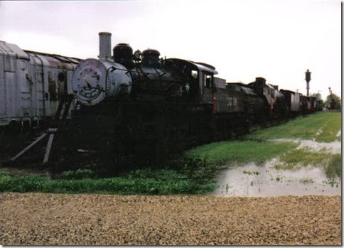 Illinois Central 2-6-0 #3719 at the Illinois Railway Museum on May 23, 2004