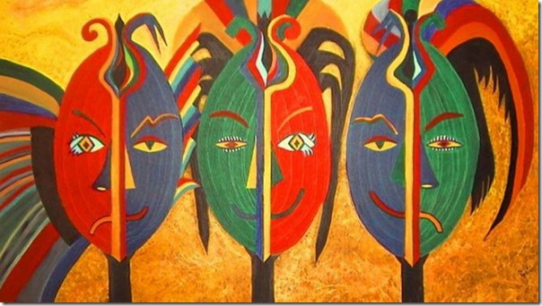 mascaras africanas e