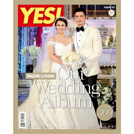 Marian Rivera and Dingdong Dantes - Yes! February 2015
