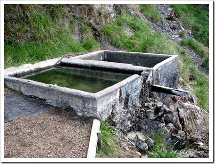 Tarawera Hotpools now deemed unsafe by the Dept; of Conservation. Nice and clean and hot so somebody looks after them.