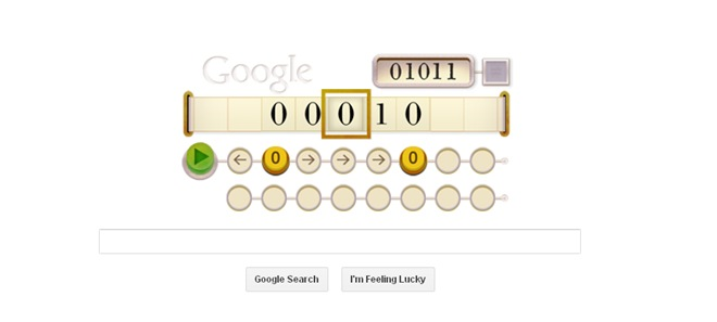 Alan Turing's 100ths birthday