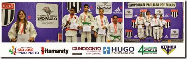 www.judo.org.br - Paulista por Faixas 2014 - Podios