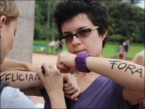 manifestação contra Marco feliciano 10