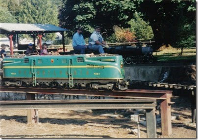 14 Pacific Northwest Live Steamers in 1998