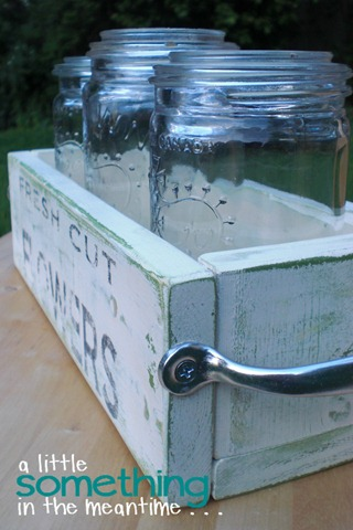 Mason Jar Planter End WM