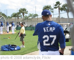 'Matt Kemp @ Vero Beach 2008' photo (c) 2008, adamclyde - license: http://creativecommons.org/licenses/by-nd/2.0/