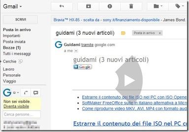 Gmail Mouse Gestures Passare all'email successiva