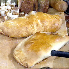 Ricotta and Ham Calzone