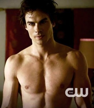vampire-diaries-damon-shirt-off