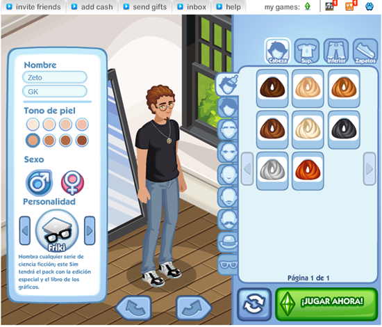 The Sims Social 1