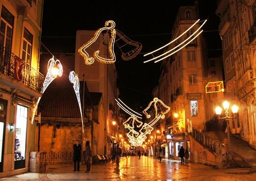 Portugal - coimbra - natal - rua Visconde da Luz - Glória Ishizaka