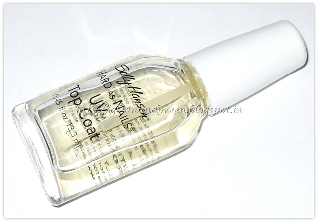 Sally Hansen Hard As Nails - UV Top Coat