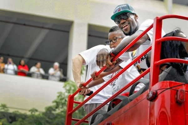 NBA Champions Miami Heat Celebrate In Streets of Miami
