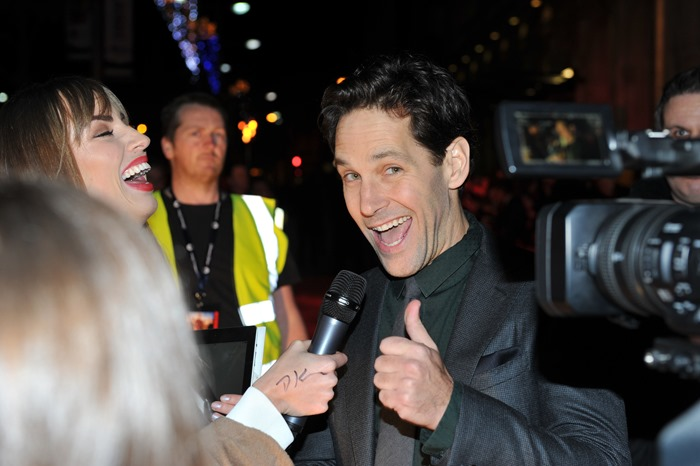 Dublin – 9th December 2013: Paul Rudd attends the Dublin Premiere of Anchorman 2 – Credit: Clodagh Kilcoyne for Paramount Pictures International via Getty Images