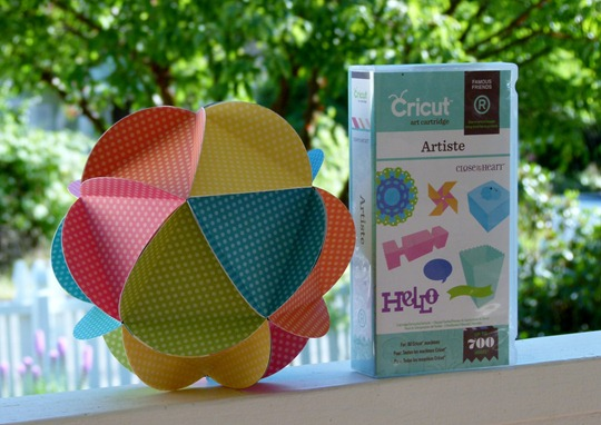 20 circle ball artiste cricut ctmh dotty for you