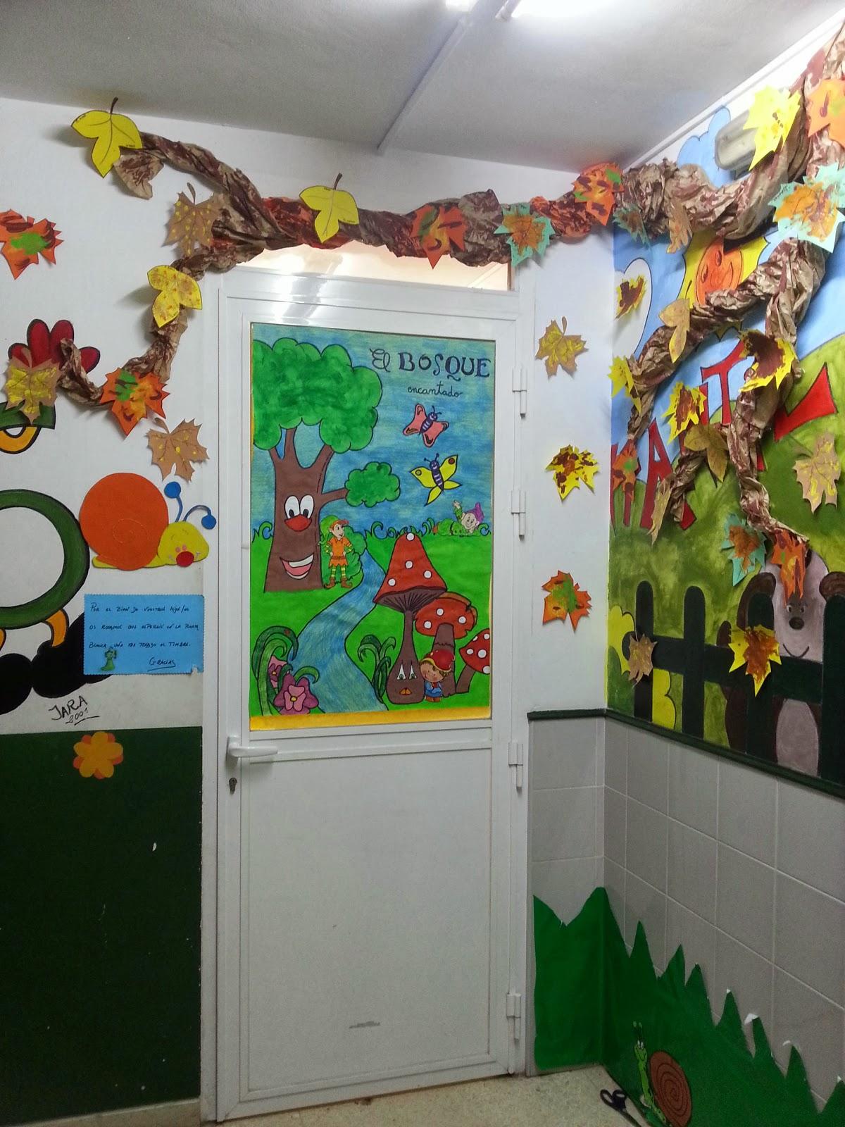 Infantil atalaya cantabria lleg el oto o a la escuela for Decoracion otono infantil