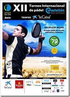 XII Torneo Internacional Castellón Mediterráneo Trofeo La Caixa 2011 en el Pádel Club 79