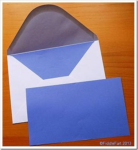lined C5 envelope