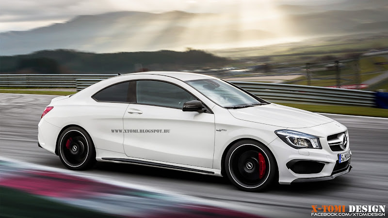 What if the New MercedesBenz CLA was a Proper Coupe