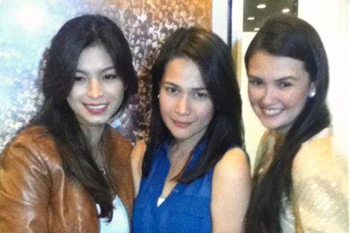 Angel Locsin, Bea Alonzo and Angelica Panganiban