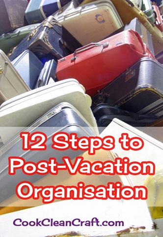 12 Steps to Post-Vacation Organisation