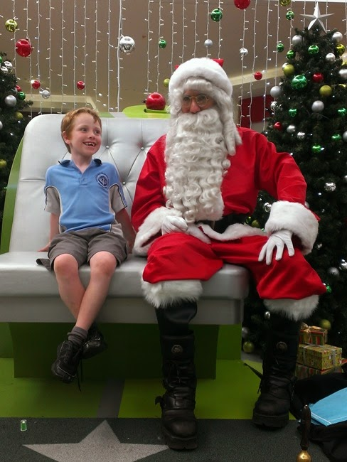 ebe - not really sure what to think about Santa