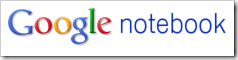 google notebook logo