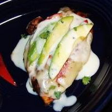 Grilled Chicken Pepper Jack With Creamy Sauce