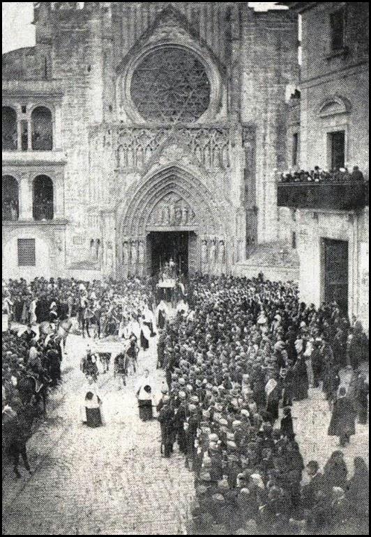 PROCESION DEL CORPUS CA 1897