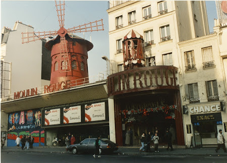 Obiective turistice Paris: Moulin Rouge